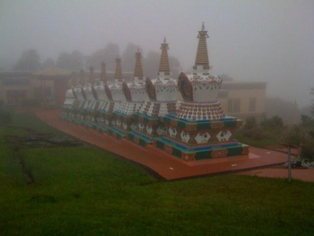 Khadro Ling's Stupas