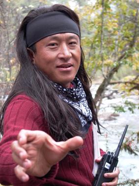 Dzongsar Khyentse Filming